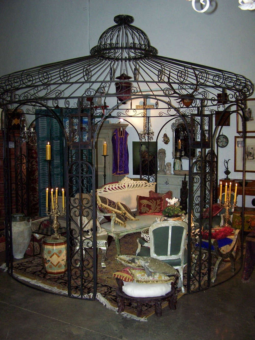 French Style Gazebo At Bashford Antiques