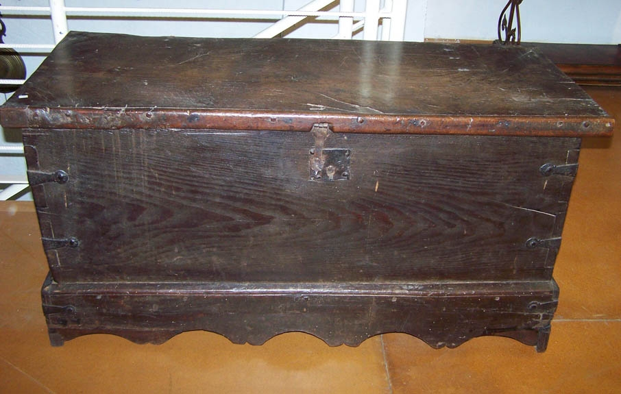 Image of Spanish Chestnut 18th Century Coffer