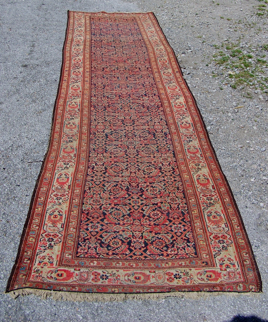 Image of Feraghan hand knotted runner