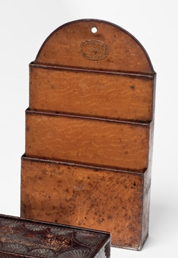 Image of Tole ware letter rack
