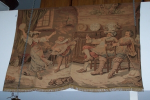 Image of Tapestry Victorian Tavern scene