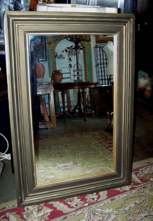 Image of Mirror hand painted frame by Karel Burrows