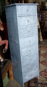 Image of Industrial  8 drawer tallboy