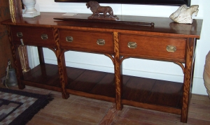 Image of Kauri 17th Century style bespoke serving table