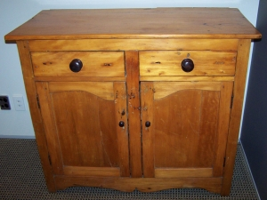 Image of South African Yellow wood country sideboard
