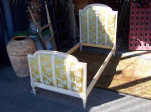 Image of Louis XVI Style Single Bed Early 20th Century