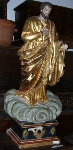 Image of Spanish statue of the Ascension of Christ