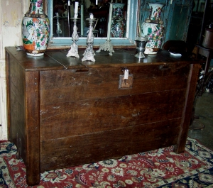 Image of Spanish Oak Grain Coffer