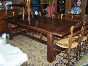 Image of Refectory Oak Dining Table