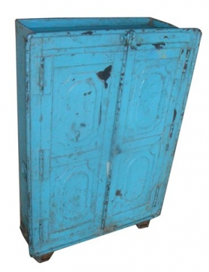 Image of Old Industrial metal cupboard