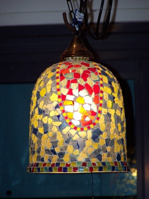 Image of Mosaic pendant light