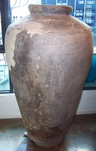 Image of Ancient pottery storage pot