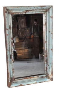 Image of Mirror with old moulded frame