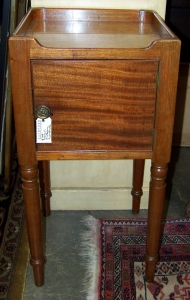Image of Bedside Georgian Mahogany night stand