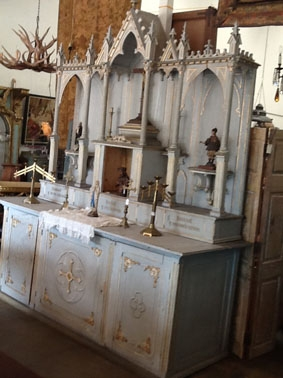 Image of High Altar antique Spanish