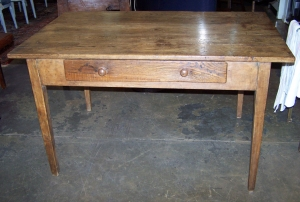 Image of Writing table antique Spanish Chestnut